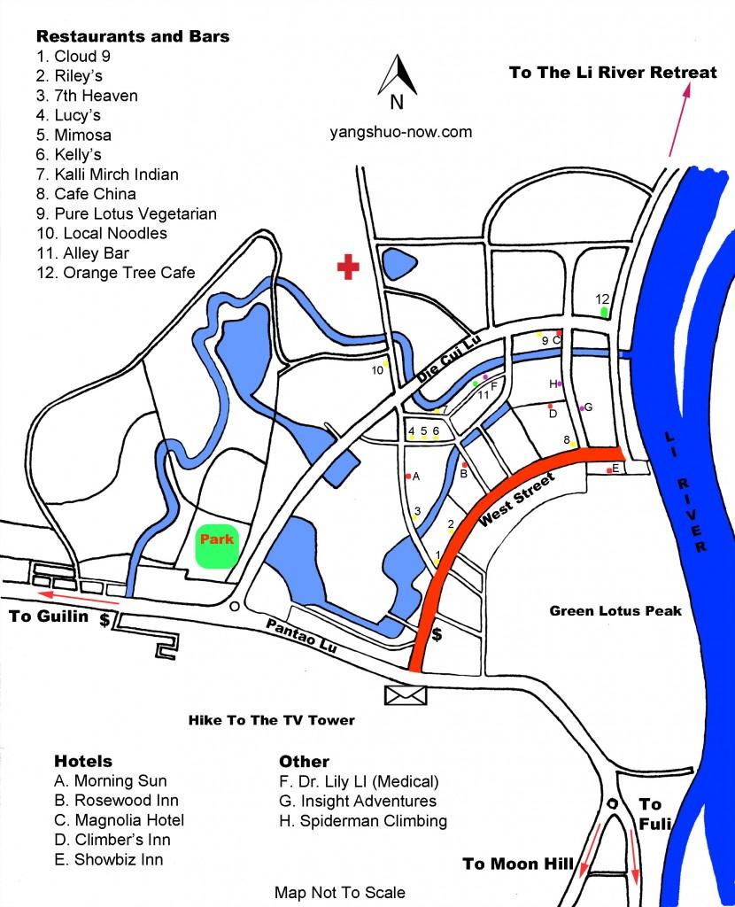 Yangshuo Map